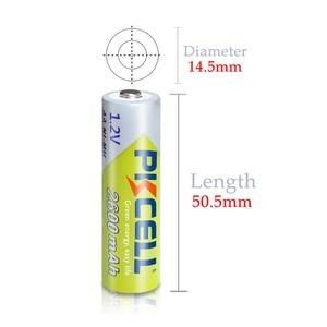 Image 5 - 8 Stücke PKCELL 2300 zu 2600mah Batterie NIMH AA Wiederaufladbare Akkus aa 1,2 v und 2 stücke Boxen Fall
