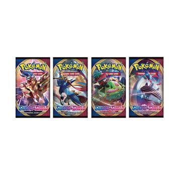 Pokemon Cards 2020 324pcs Pokemon Action Figures Trading Card Game Set Booster Box Sword Shield Vmax New English Edition Tomy Children Toy 2