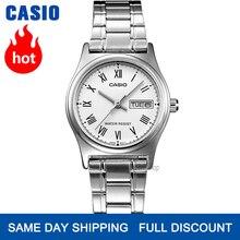 Casio montre femmes montres top marque de luxe ensemble étanche Quartz montre femmes dames cadeaux horloge lumineuse Sport montre relogio feminino reloj mujer bayan kol saati zegarek damski LTP V006