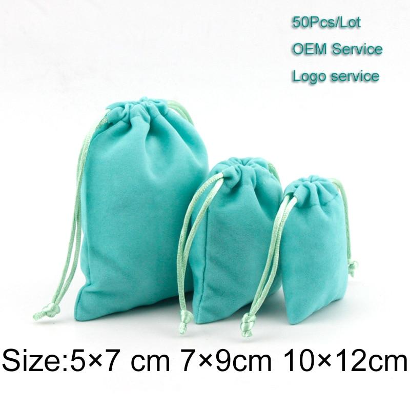 Drawstring Gift Bag 5×7 7×9 10×12 50pcs/Lot Cosmetic Packing Bag Make Up Tools Bag 2020 Packing Bag