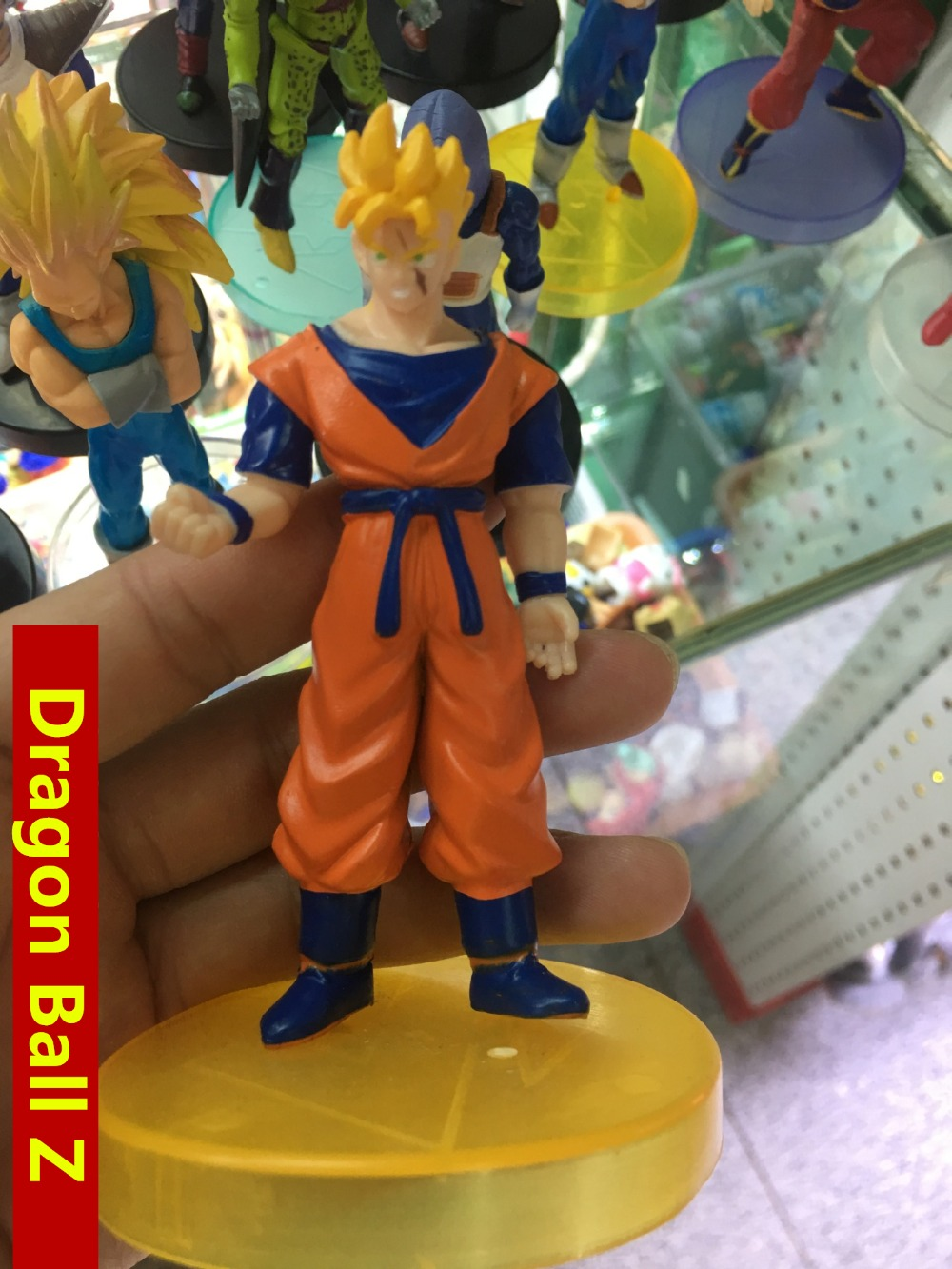 80styles 14cm Dragon Ball Z gkresin Super Saiyan Goku Son Broli vegeta Trunks freezer  Action Figure Model Collection Toy Gift (5)