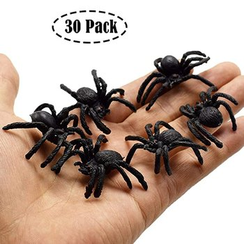 Halloween Simulation Spider Toy Doorbell Glowing Sounding Horror Props Electric Toy Door Hanging Sku