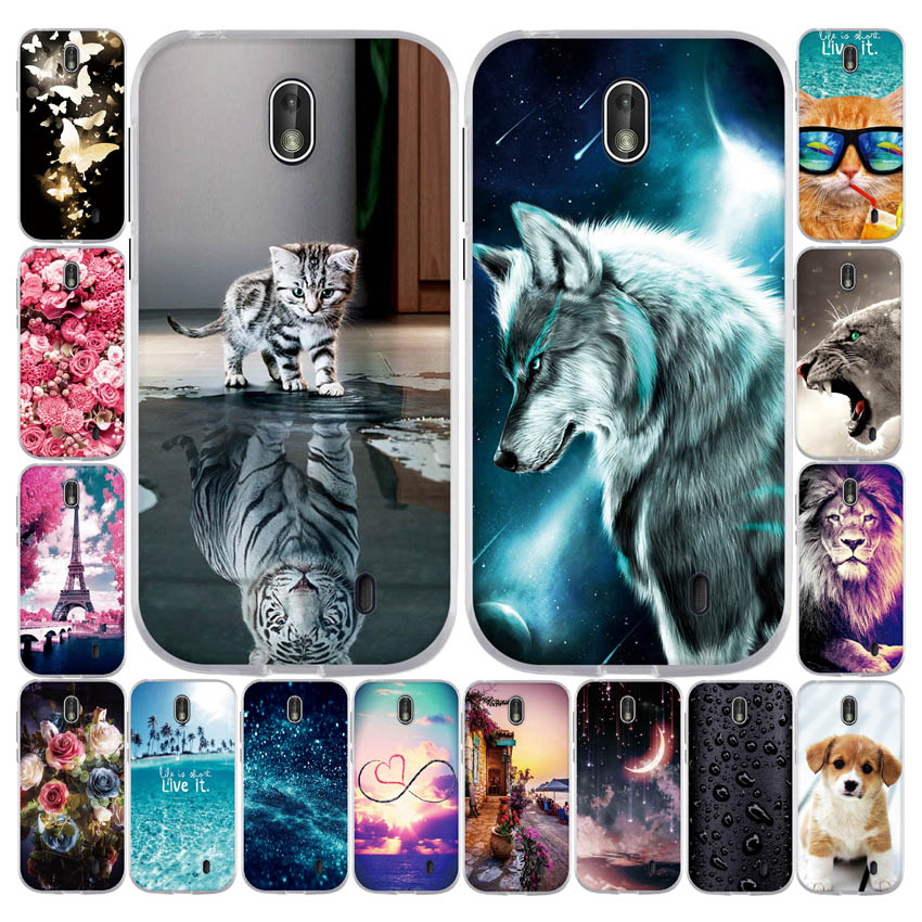 For <font><b>Nokia</b></font> 1 <font><b>Case</b></font> <font><b>Nokia</b></font> 1 2018 <font><b>Case</b></font> Soft Silicone Back Cover <font><b>Case</b></font> For <font><b>Nokia</b></font> 1 TA-<font><b>1047</b></font> TA-1060 TA-1056 TA-1079 TA-1066 Phone Cover image