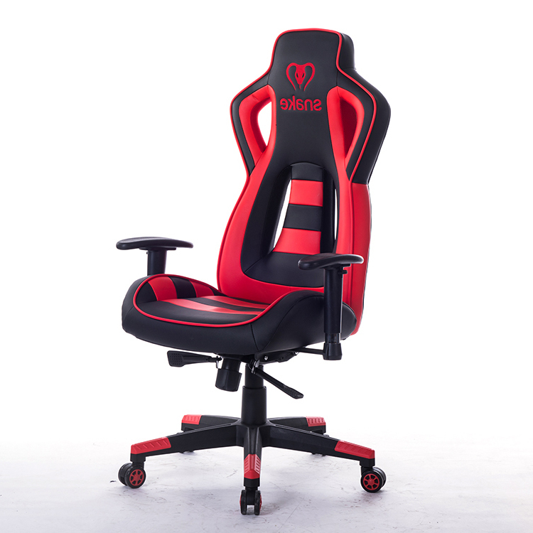 Executive Office Ergonomic Super Computer Game Chair Rotate Armrest Chair Lifting Reclining Racing PU Leather Chair HWC
