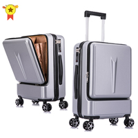 2024inch Women Rolling Luggage Travel Suitcase Case with Laptop Bag Men Universal wheel Trolley ABS box fashion suitcase