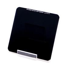 Wyatt 150mm IR Nano Multi coated Neutral Density 3 6 10 Stops Filter ND 0.9 1.8 3.0 ND1000x 64x 8x Square Optical Glass Filter
