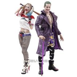 Juguetes locos Suicide Squad Joker/Harley Quinn 1/6 escala coleccionable figura modelo de juguete