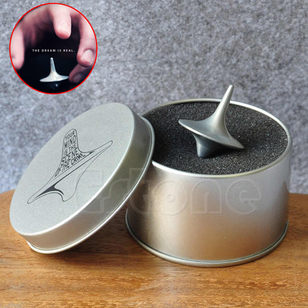 Funny Fashion New Hot Accurate Totem Zinc Alloy Toy Gyro Spinning Top