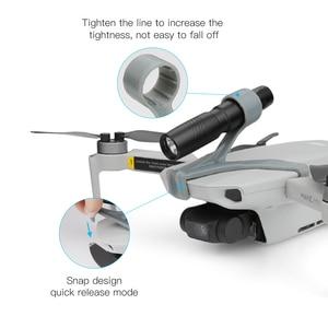 Image 4 - For Mavic Mini Night Navigation Headlamp LED Lights Night Flight Searchlight DJI Mavic Mini Accessories Flashlight