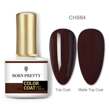BORN PRETTY Nail Gel 120Colors 10ml Gel Nail Polish Soak Off UV LED Gel Varnish Holographics Shining Nagel Kunst Gellack 127