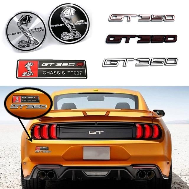 Voiture style 3D décalcomanie voiture autocollant accessoires pour Ford Shelby Logo Focus 3 Fiesta Mondeo GT350 emblème Fusion Kuga Ranger Transit