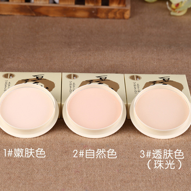 Transparent Pressed Powder Long Lasting Oil Control Face Foundation Waterproof Whitening Skin Finish Concealer 5