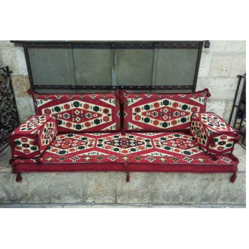 MESOPOTAMIAN Sofa Eastern Corner Set Pillow Cushion HOOKAH Lounge Couch