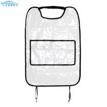 Car-Storage-Bags Back-Protector Children Travel-Organizer Kick-Mud-Mats Waterproof-Seat