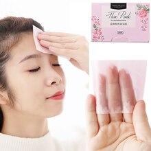 Blotting Oil-Absorbing Face-Paper Facial-Cleanser Linen Pulp Fibres Plant 100pcs/Pack