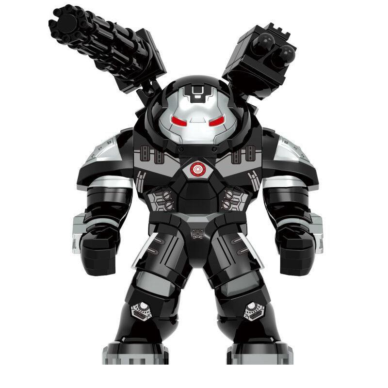 Marvel Iron Man James Rhodes War Machine Hulkbuster Figure Blocks Construction Building Bricks Toys For Children