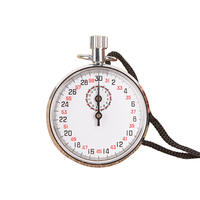 SXJ504 Athletics Portable Handheld Outdoor Sports Chronograph Alarm Round Running Timer Mechanical Stopwatch Accessory With Case