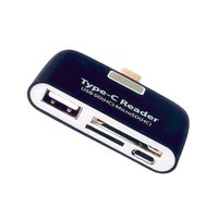 card reader Multifunction Memory Card Adapter USB 3.1 Type C USB-C TF OTG Card Reader for MAC-book Phone Tablet Cards Readers (3)