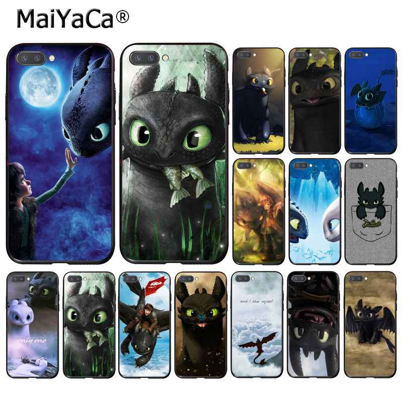 MaiYaCa sdentato How To Train Your Dragon Cassa Del Telefono per Huawei Honor 8X9 10 20 Lite Honor 7A 7C Honor10i View20