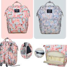 Shoulder-Backpacks School-Bags Mommy Large-Capacity Baby Women Business Nylon Fashion