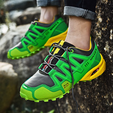 Man Fashion running Shoes mesh Breathable Casual Sneakers Comfortable outdoor Running Solomon shoes Zapatillas Hombre