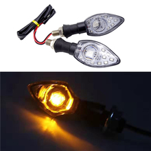 Mini Motorcycle Flasher Front/Rear Clear Turn Indicator Signal For YAMAHA YZF R1 R6 FZ1 FZ6 XJ6 motorcycle accessories