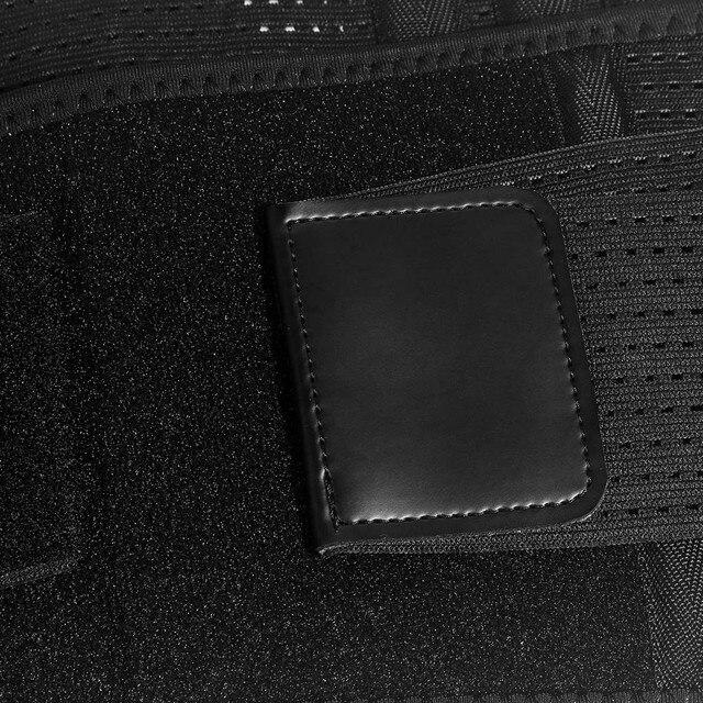 Sport Waist Support belt Weightlifting Protective Gear Waist Fitness Beltback Belt Neoprene waist trimmer fitness sweat belt 2