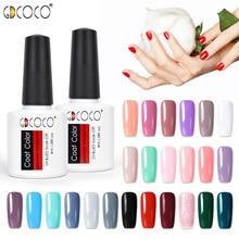 GDCOCO лак для ногтей nail Art Гель для дизайна Лаки 8 мл неонового цвета блестящие soak off-польский гель маникюр