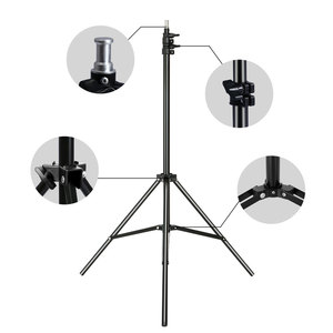 Image 2 - Профессиональный студийный Регулируемый софтбокс для вспышки непрерысветильник штатив 2 м/6,5 футов