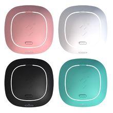 Портативная бесшумная машинка для очистки контактных линз от близорукости USB 4,0, аксессуары для мытья мягких/цветных линз