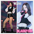 Kpop Blackpink jennie Stage show mesmo coreano sexy camisas de manga longa shorts duas peças set mulheres verão bermudas colete 2 piece set