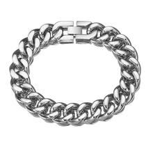 new arrival punk wide men bracelet bangle fashion personality stainless steel jewelry as gift