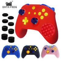 Anti-Slip Soft Silicone Gel Case Cover for X1 Slim Controller Gamepad Rubber Skin Protective Case With Thumb Stick Grip Caps