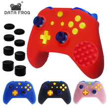Anti-Slip Soft Silicone Gel Case Cover for X1 Slim Controller Gamepad Rubber Skin Protective With Thumb Stick Grip Caps