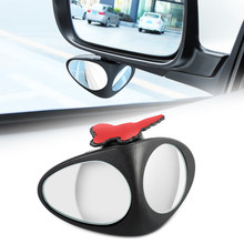 Car Spot Mirror Degree Rotatable for Nissan 370z honda grom mercedes benz bmw x3 mini cooper s r56 ford emblem bmw keychai(China)