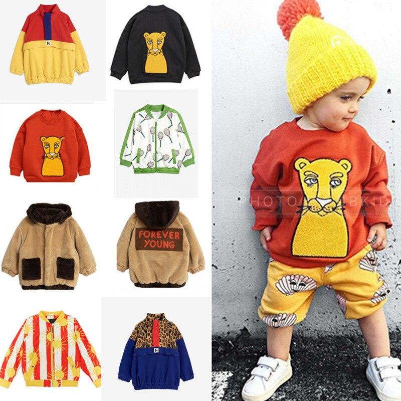 2020 New Mini Kids Winter Clothes Boys Clothes Jackets Sweatshirt Pants POP Sun T Shirts Baby Girls Coat Cotton Outwear Tops 1