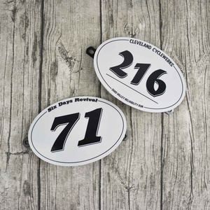 Table Number Plate Motorcycle NO.71/NO.216 Bracket License plate Vintage For MOTO CAFE RACER Scrambler