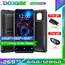 "DOOGEE S95 modüler sağlam cep telefonu IP68 Smartphone 6.3 ""Helio P90 Octa çekirdek 6GB 128GB 48MP üçlü kamera Android 9.0 5150mAh"