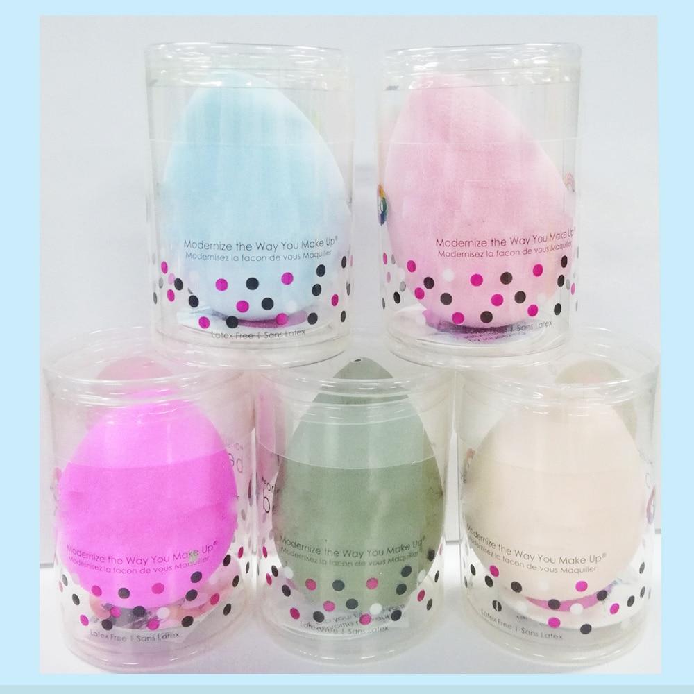 5PC WaterDrop Shape BB Cream Concealer Foundation Powder Cosmetic Puff Water Blending Eye Nose Face Beauty Sponge Makeup Tool
