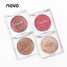 NOVO Ice Cream Single Shimmer Eyeshadow palette Smooth Shine Texture Waterproof