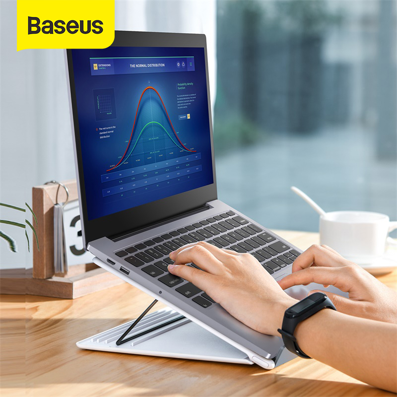 Baseus Laptop Stand for Macbook Air Pro Folding Portable Notebook Stand for iPad Laptop Laptop Accessories Tablet Bracket Holder