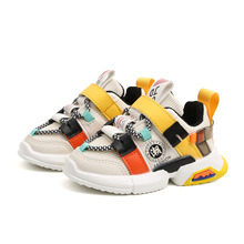 Running Shoes Child Sneakers Martin-Boots Spring Autumn Boys Fashion Girls Kids 21-30