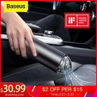 Baseus Auto Aspirapolvere 4000Pa Senza Fili Portatile Per Il Desktop di Casa Pulizia Interni Auto Mini Portatile Auto Aspirapolvere