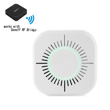Wireless Smoke Detector 433MHz Fire Security Protection Alar