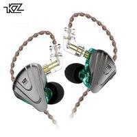KZ ZSX Terminator 1DD+5BA Hybrid In ear Earphones HIFI Metal Headset Music Sport ZS10 PRO AS12 AS16 ES4 ZSN PRO V80 X6 DMS