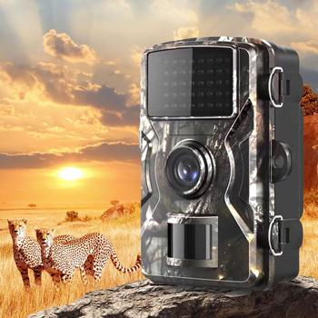 DL-100 12MP 1080P Scream Hunting Trail Camera Tracking Infrared Night Vision WildLife Cameras For Video Photo Trap For Hunting pr200 hunting camera photo trap 12mp wildlife trail night vision trail thermal imager video cameras for hunting scouting game