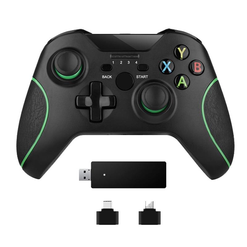 2.4G Controlador Sem Fio Para Xbox One Console Para PC Para Android smartphones Gamepad Joystick