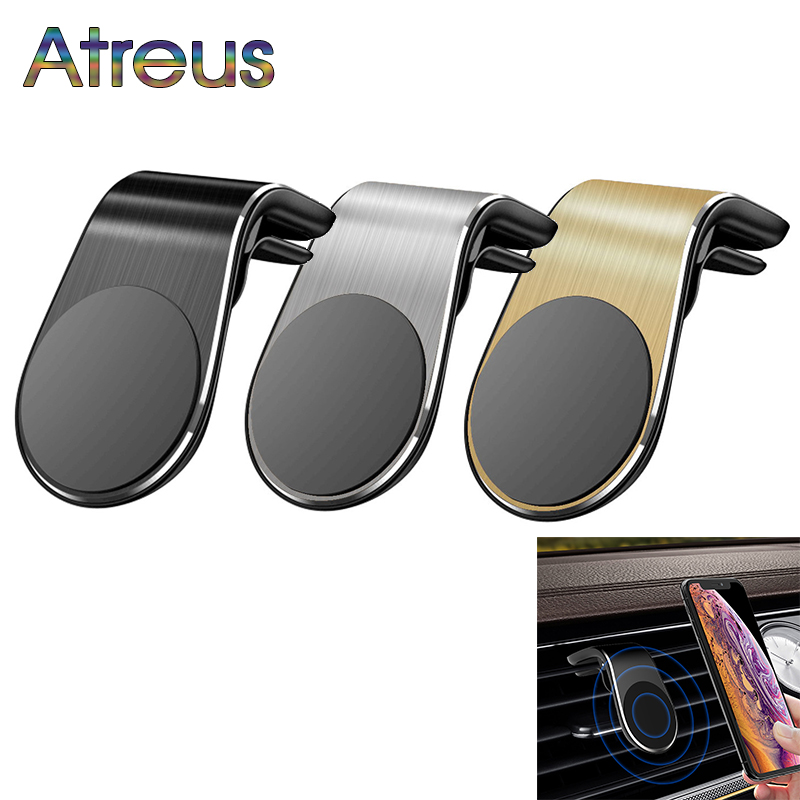 Car Air Vent Mount Magnet <font><b>GPS</b></font> Cell Phone Stand Holder for Abarth Fiat 500 grande punto Skoda Rapid Octavia <font><b>A7</b></font> A5 Fabia Kodiaq image