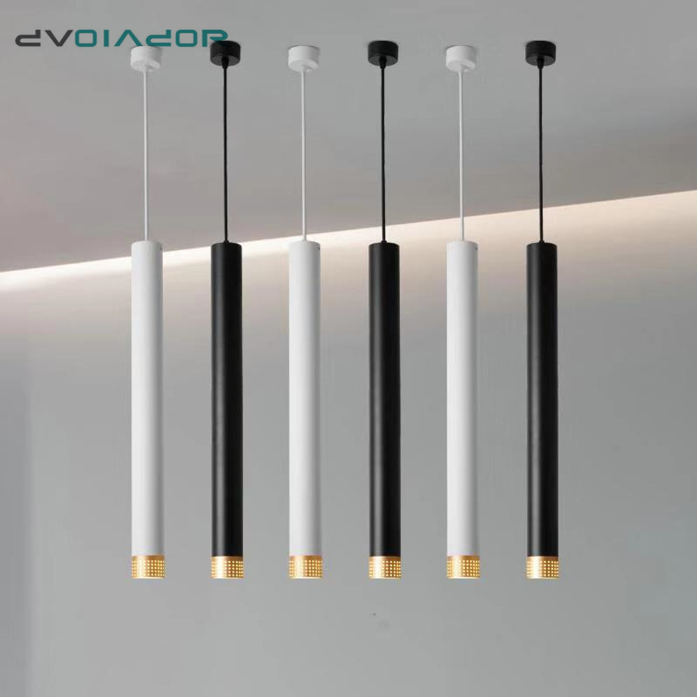 Nordic Long Pendant Lamp Dimmable