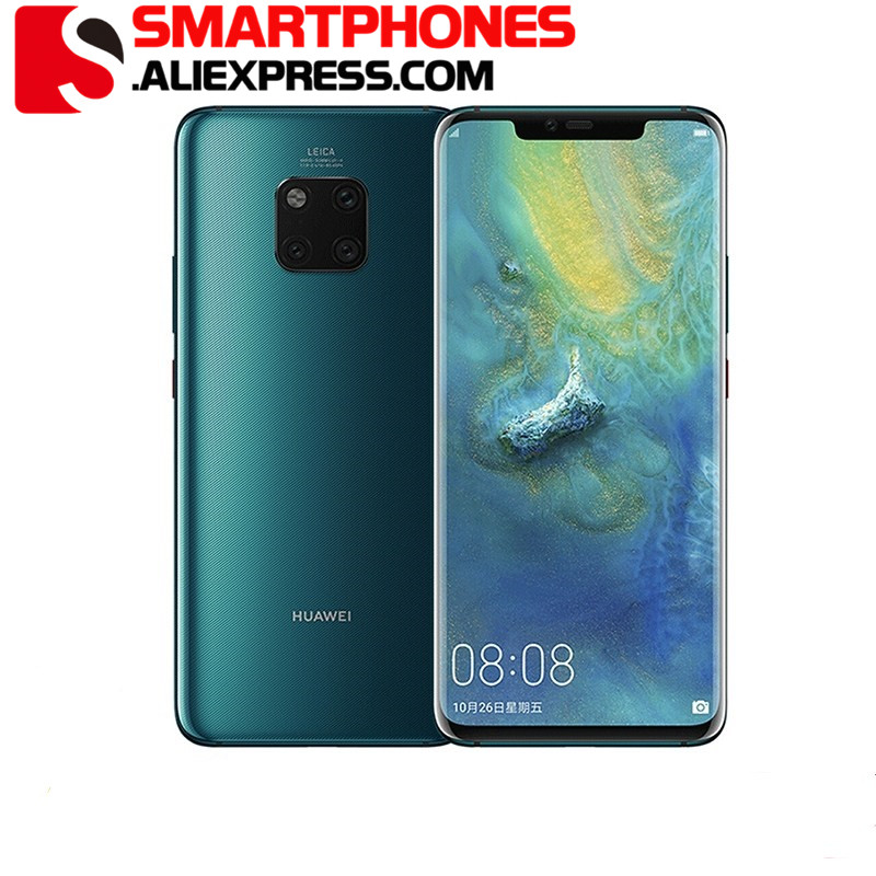 HUAWEI Mate 20-Pro Mobile-Phone 128GB 6GB Octa Core In-Screen fingerprint recognition